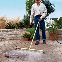 The Wide Expanse Water Broom - Hammacher Schlemmer