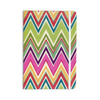 "Heidi Jennings ""Clash Of Color"" Rainbow Chevron Everything Notebook"
