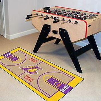 Los Angeles Lakers Runner Mat Area Rug