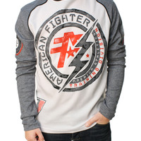 American Fighter Men's Allen Artisan LS Graphic T-Shirt