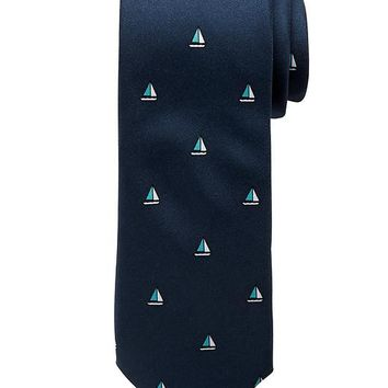Banana Republic Factory Sailboat Tie Size One Size - Basic navy