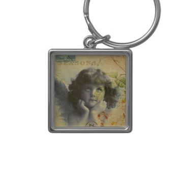 French Postcard Keychain