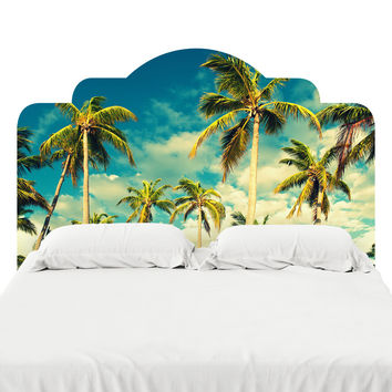 Tropical Sky Headboard Decal