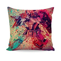 3D Transformers Couch Pillow