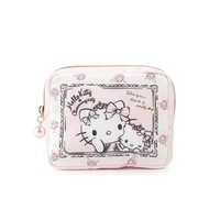 Hello Kitty Compact Cosmetic Pouch with Mirror: Charmmykitty