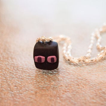 Minecraft Enderman /Creeper Necklace/Cellphone Charm