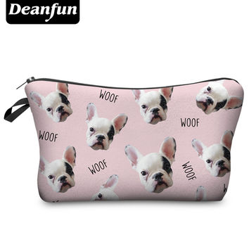 Deanfun 2017 3D Printing Large Cosmetic Bag Fashion Women Brand H79