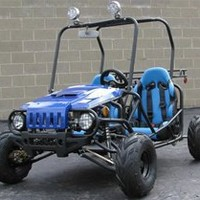 Go Kart 125cc Semi Auto with Reverse New Look:Amazon:Automotive