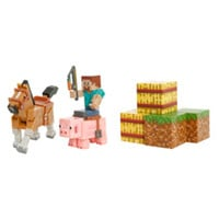 Minecraft Series #2 Saddle Pack Action Figures