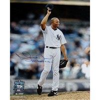 Steiner Sports Mariano Rivera 602nd Save Tipping Hat 16'' x 20'' Signed Photo