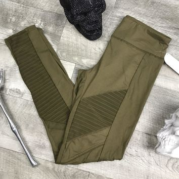 ACTIVEWEAR MOTO MESH LEGGINGS
