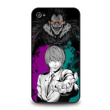 LIGHT AND RYUK DEATH NOTE iPhone 4 / 4S Case Cover