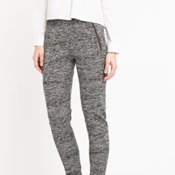 Selected Femme Bella Melange Trousers in Grey - Urban Outfitters