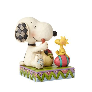 "Snoopy & Woodstock Easter Eggs ""A Colorful Tradition"" Figurine"