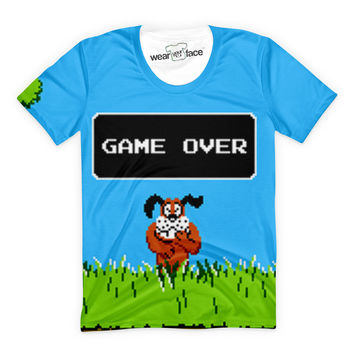 Game Over Duck Hunt T-Shirt