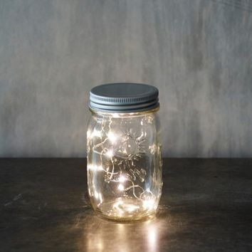 Jar with LED Lights