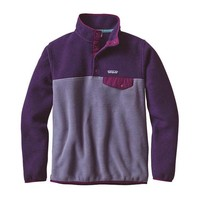 Patagonia Women's Synchilla Snap-T Fleece Pullover in Lupine 25455-L