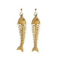Tiffany & Co. Ruby Gold Fish Earrings