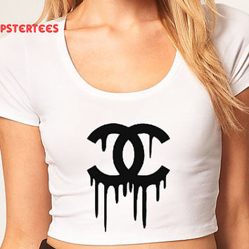 Chane Crop Top-Hipsters