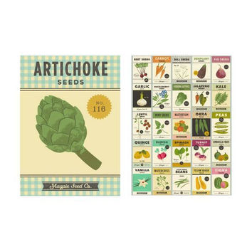 Roots & Shoots Tea Towels Gift Pack of 2