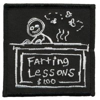Farting Lesson Patch