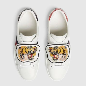 GUCCI Ace sneaker with removable patches-2