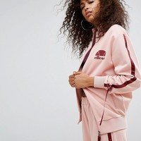 Ellesse Tracksuit Top With Side Pull Ties at asos.com