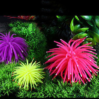 Aquarium Fish Tank Decor Artificial Coral Underwater Decoration Ornament Fine