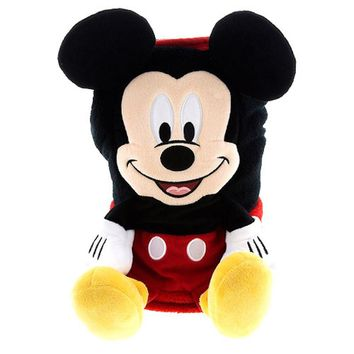 disney parks mickey mouse character cuddle plush blanket new with tags