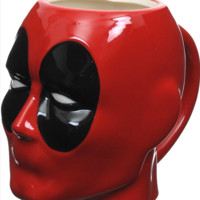DEADPOOL HEAD SCULPTED MUG