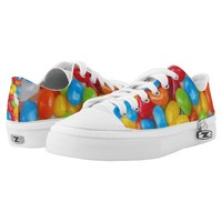 Candy Zipz High Top Shoes, US Men 4 / US Women 6 Low-Top Sneakers