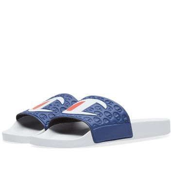 Champion Logo Slide