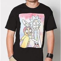 Neon Rick and Morty T shirt - Spencer's