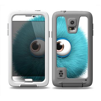 The Teal Fuzzy Wuzzy Skin Samsung Galaxy S5 frē LifeProof Case