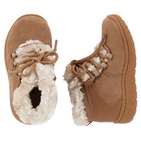 Faux Fur-Lined Booties