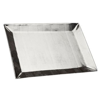 Godinger 19.5-in. Serving Tray (Silver)
