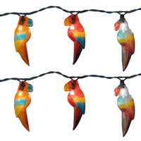Parrot Party String Lights, 8-Feet