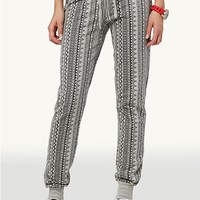 Tribal Stripe Sweats