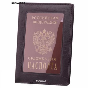 New Arrival Fashion Passport ID Card Document PVC Cover Case Holder Travel Protector