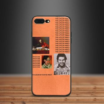 kanye west the life of pablo hip hop Soft Silicone Phone Case Cover Shell For Apple iPhone 5 Se 5s 6 6s Plus 7 8 7Plus 8Plus X