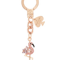 Kate Spade Flamingo Keychain Pink Multi ONE