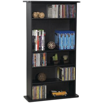 Atlantic Drawbridge CD & DVD Multimedia Cabinet- Shelf - Walmart.com