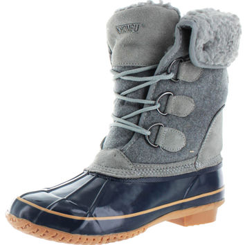 Khombu Jilly Women's Duck Snow Boots Rubber Waterproof
