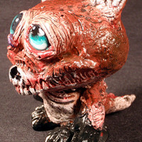 Zombie Fox Blank Munny Dunny Style by Undead Ed OOAK