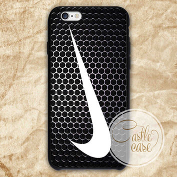 the nike netal iPhone 4/4S, 5/5S, 5C Series Hard Plastic Case