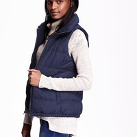 Old Navy Womens Quilted Fleece Lined Vest