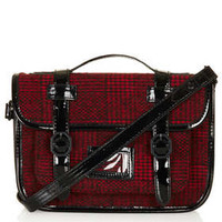 Tartan Mini Mary Satchel - This Is England  - Clothing