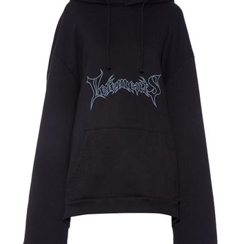 Logo-print hooded sweatshirt | Vetements | MATCHESFASHION.COM US