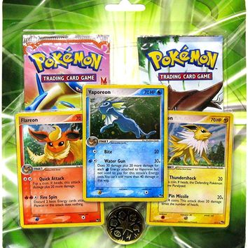 Pokemon EX Enhanced Special Edition Pack (2 EX Booster Packs and 3 Foil Cards o