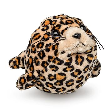 "12 Pack Leopard Seal Mini 4"" Small Stuffed Animals, Bulk Bundle Ocean Animal Toys, Sea Party Favors for Kids"
